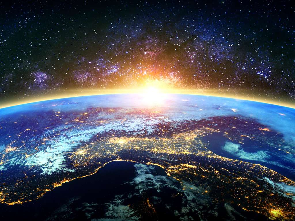 The future is written in the stars   Photo: (c)  tawatchai1990/nasa  - stock.adobe.com