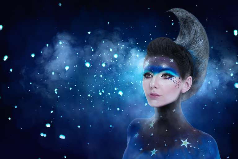 Der Mond in den 12 Sternzeichen   Foto: © srady - stock.adobe.com
