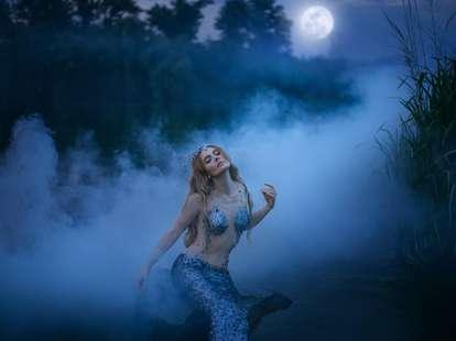 Mond in den Fischen