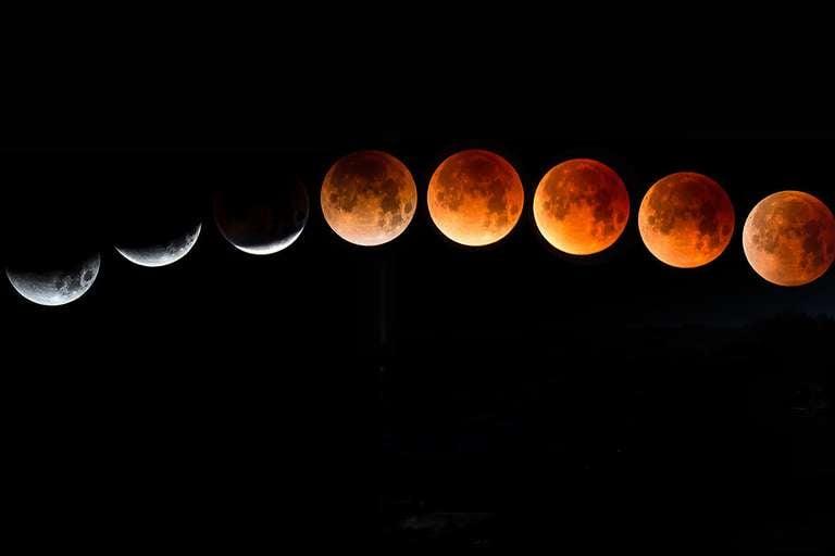 Die verschiedenen Mondphasen | Foto: © Brian - stock.adobe.com