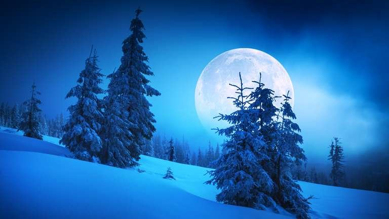 """Moon Before Yule"" relates to the Winter solstice on Dec. 21st. 