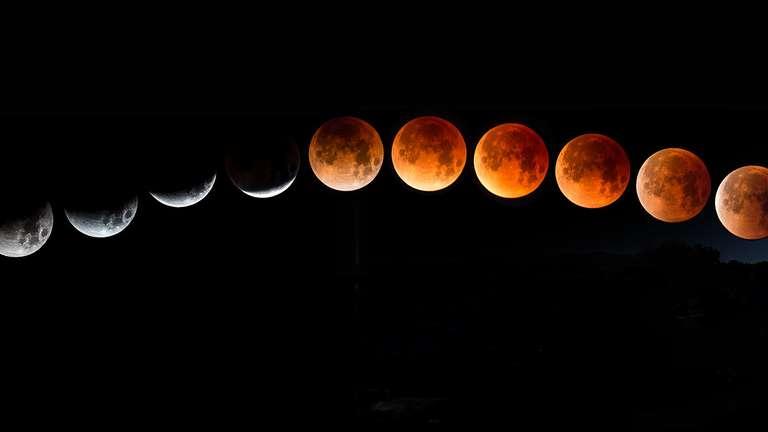 Er zeigt sich gemeinsam mit einer großen Supermond - Mondfinsternis! | Foto: © Brian - stock.adobe.com