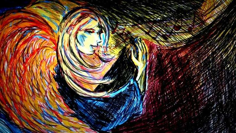 Erzengel Gabriel (c) Illustration CorneliaAngelArt