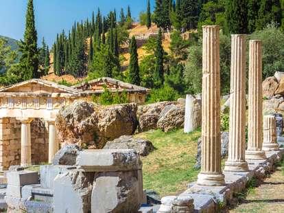 Orakel von Delphi - Ruinen | Foto: © iStockphoto.com/Gatsi