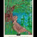 """Die Tarotkarte """"Die Besinnung"""" im Schicksals-Tarot © Verlag Franz"""