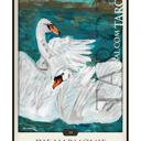 """Tarotkarte """"Die Harmonie"""" im Schicksals-Tarot © Verlag Franz"""