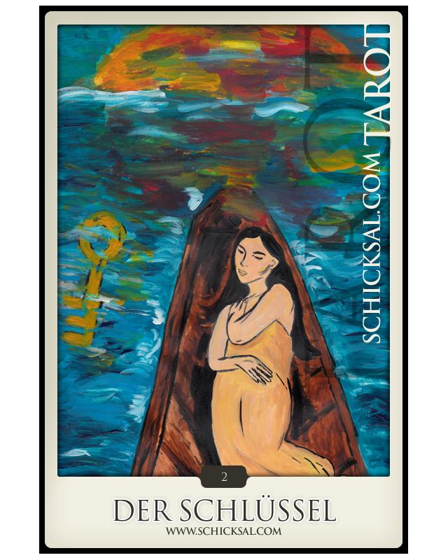 "Tarotkarte ""Der Schlüssel"" | Schicksals-Tarot © Verlag Franz"