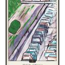 """Tarotkarte """"Der Stau"""" im Schicksals-Tarot © Verlag Franz"""