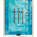 Drei Schwerter | Schicksals Tarot © Verlag Franz