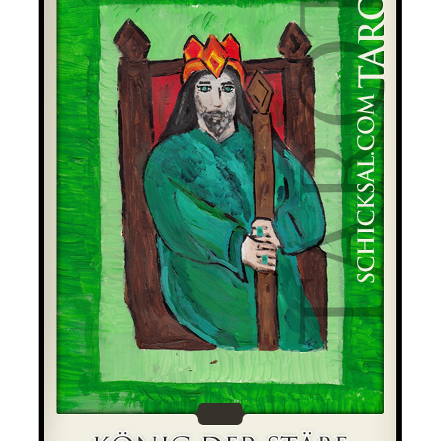 könig der stäbe