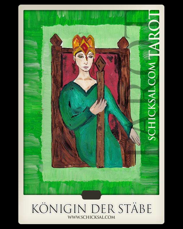 Königin Der Stäbe