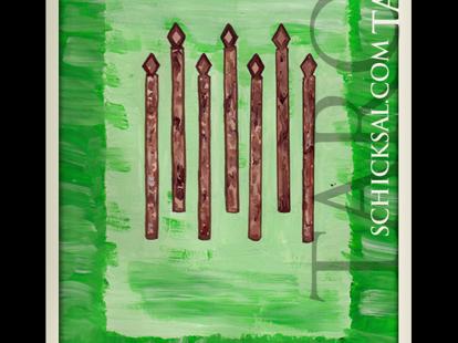 Sieben Stäbe © Verlag Franz
