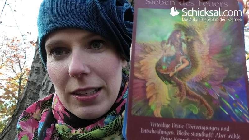 Tageskarte (c)Tarot Doreen Virtue und Radleigh Valentine