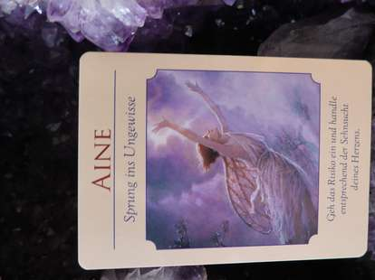 Karte (c) Göttinnen Orakel, Doreen Virtue