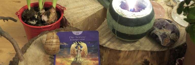 Tageskarten Reading (c) Cornelia AngelArt /Karte (c) Engeltarot von Radleigh Valentine