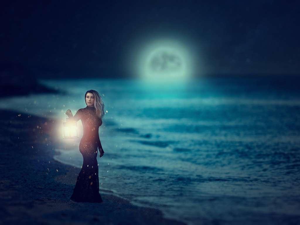 Der Mond | Foto: © iStockphoto.com/stock_colors