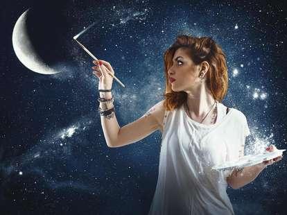 Mond im Zeichen Wassermann | Foto: (c) alphaspirit - stock.adobe.com