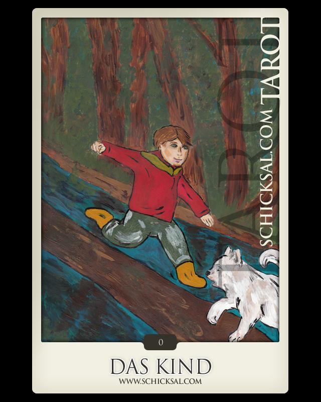 "Tarotkarte ""Das Kind""   Schicksals-Tarot © Verlag Franz"