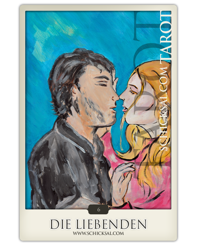 The lovers | Fate Tarot © Verlag Franz
