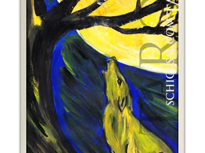 tarot card moon at fate tarot © Verlag Franz