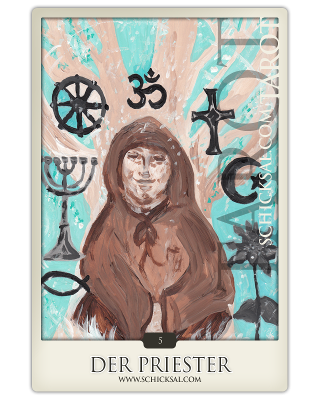 The high priest | Fate Tarot © Verlag Franz