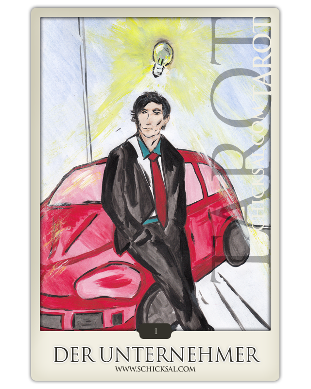 the entrepreneur | fate tarot © Verlag Franz