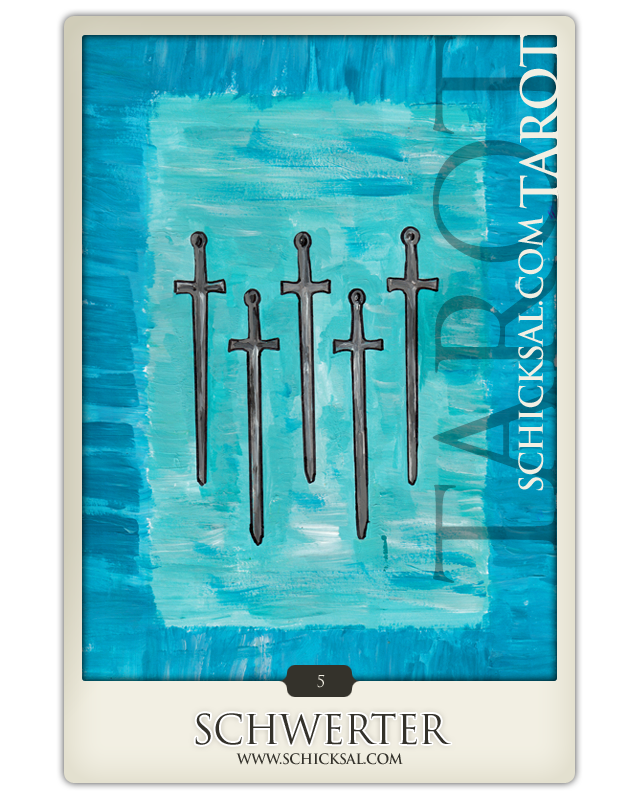 Fünf Schwerter © Verlag Franz