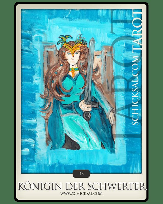 Königin der Schwerter © Verlag Franz